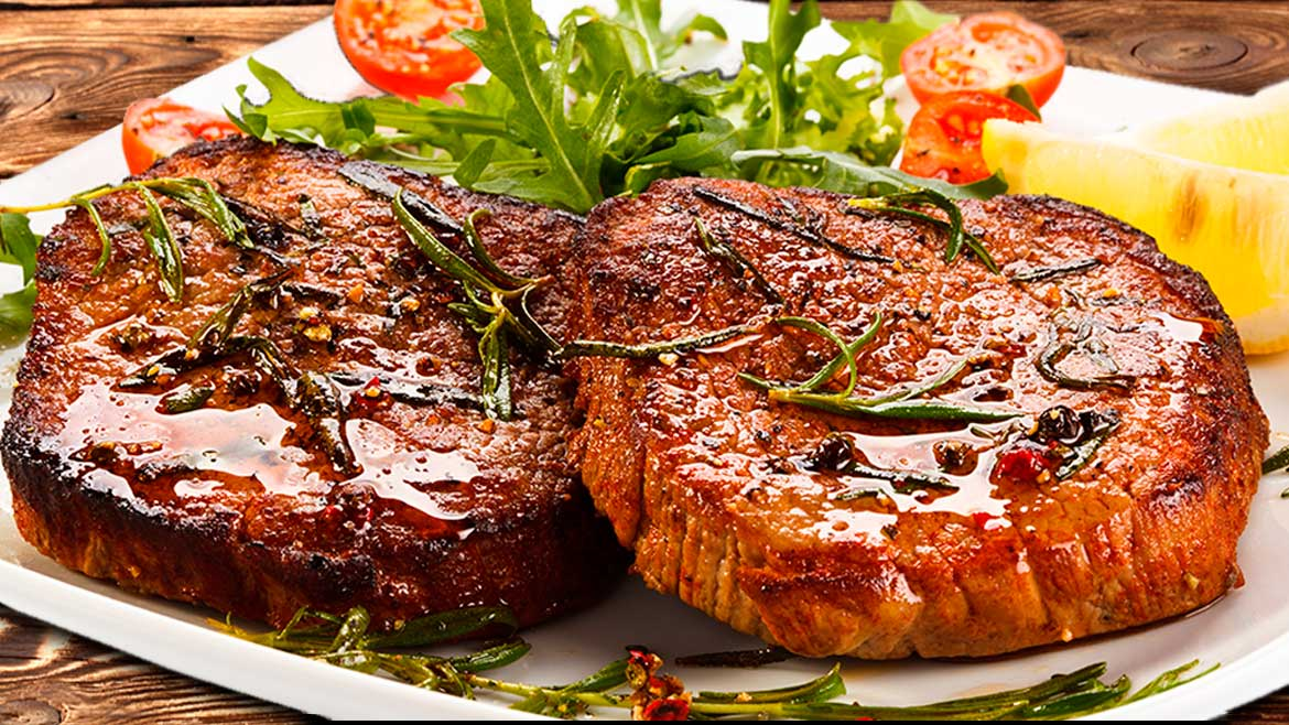 MARINATED TENDER SLICED STEAK