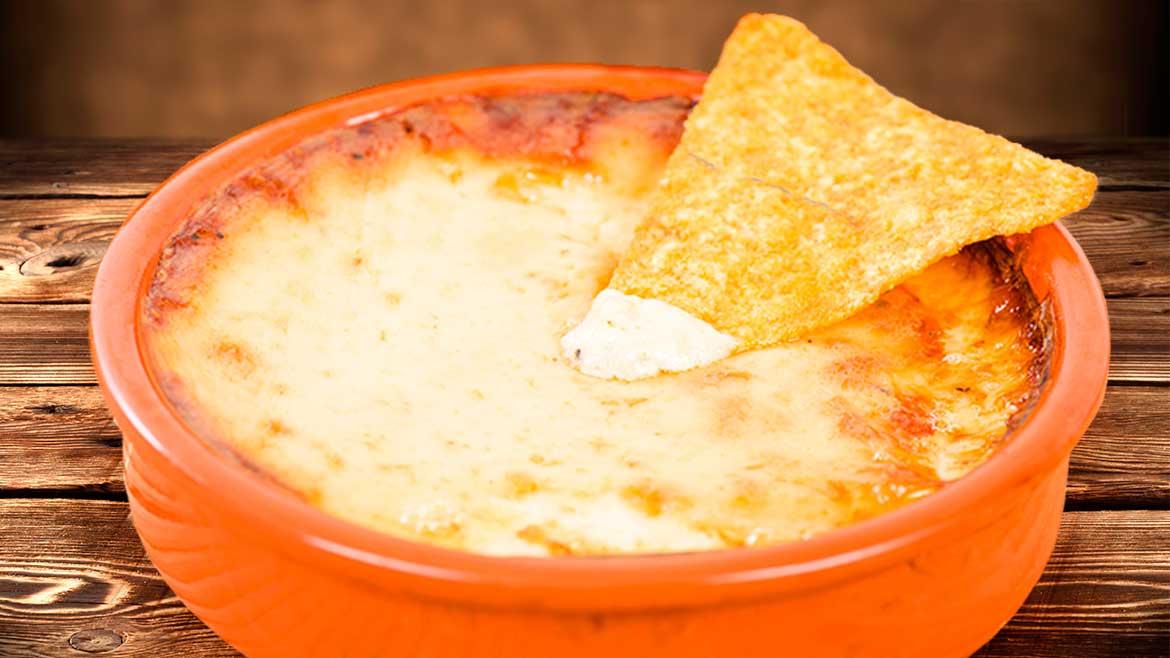 MEXICAN CHEESE FONDUE